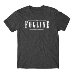 FOGLINE - LOGO - Premium S/S Tee - Charcoal Heather