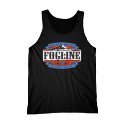 FOGLINE - LABEL - Premium Men's Tank Top - Black