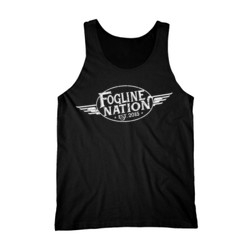 FOGLINE - WINGS - Premium Men's Tank Top - Black