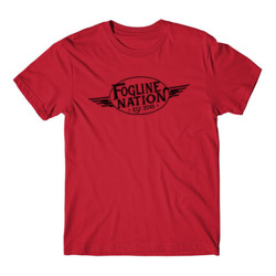 FOGLINE - WINGS - Premium Men's S/S Tee - Red