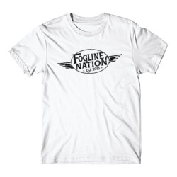 FOGLINE - WINGS - Premium Men's S/S Tee - White