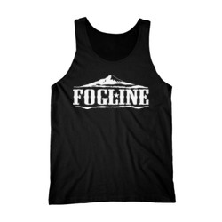 FOGLINE - MOUNTAINS - Premium Men's Tank Top - Black